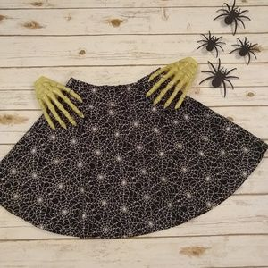 Folter Spider Web Skater Skirt